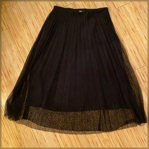 NWT Zara Tulle skirt